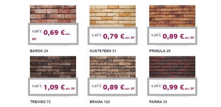 Низкие цены на кирпич Vandersanden. Акция в 2019 году!